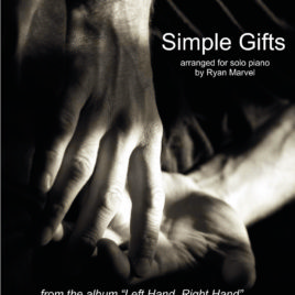 """Simple Gifts"" – Sheet Music (Signed Edition with Cover Art)"