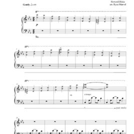 """Walking in the Air"" – Sheet Music (Download)"