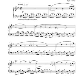 """Forgotten"" – Sheet Music (Download)"