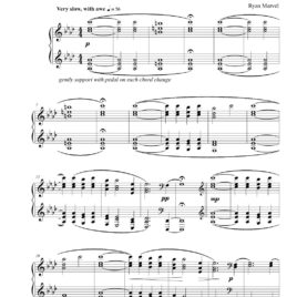 """Reverence"" – Sheet Music (Download)"